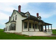 Custer House at Fort Abraham Lincoln near Mandan.