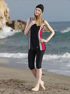 Adabkini Ace Sun Protection Surf Swimwear, Sun Suit, Including Hat, Swimsuit