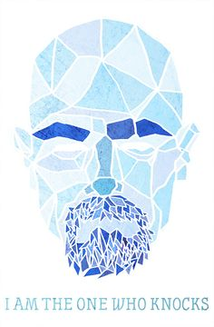 Walter White Geometric Illustration. Breaking Bad.