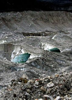 Glacial Tunnels - Everest Base Camp