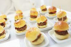 Mini burger gourmet no brioche. Evento WhiteHall