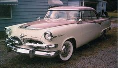 My dream car: the Dodge La Femme! Made in 1955/1956 specifically for women. It had rosebud cloth fabric interior and came with a rain hat and purse. :D