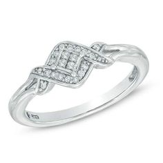 Shop for Cherished Promise Collection™ CT. Princess-Cut Quad Diamond Accent Ring in Sterling Silver - Size 6 at Zales - Cherished Promise Collection™ CT. Princess-Cut Quad Diamond Accent Ring in Sterling Silver - Size 6 Most Popular Engagement Rings, Diamond Promise Rings, Sapphire Stone, Princess Cut Diamonds, Ring Designs, Fashion Rings, Jewelry Stores, Sterling Silver Rings, White Gold