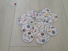 autumn, game, dobble, cards, vocabulary, young learners