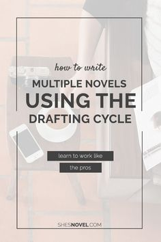 Have multiple novels in the works? Learn to finish them faster using the same technique the pros use: the drafting cycle! Click through…