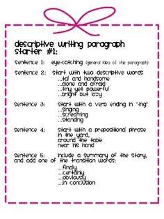 descriptive essay topics for class 10