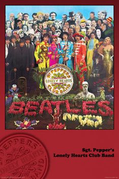 The Beatles SGT. PEPPERS LONELY HEARTS CLUB BAND Album Cover Poster