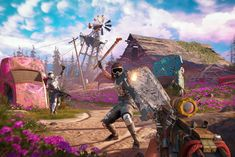 Far Cry New Dawn is an upcoming first-person shooter developed by Ubisoft Montreal and published by Ubisoft. The game is a spin-off of the Far Cry series and a Far Cry Game, Far Cry 5, Kingdom Hearts 3, Tom Clancy, Resident Evil, First Person Shooter, Xbox One Games, Playstation Games, Sniper Rifles