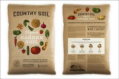 Country Soil packaging