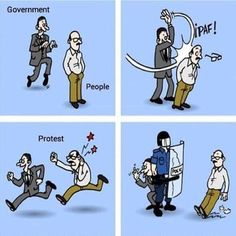 Funny pictures about The Political Protest System. Oh, and cool pics about The Political Protest System. Also, The Political Protest System photos. Political Art, Political Cartoons, Funny Cartoons, Funny Comics, Political System, Pictures With Deep Meaning, Funny Images, Funny Pictures, Funny Gifs