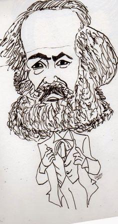 CARICATURAS DELBOY: KARL MARX. Alejandro Delboy Karl Marx, Negative Emotions, Sociology, Savage, The Fosters, Geek Stuff, Communism, Education College, Essay Writing
