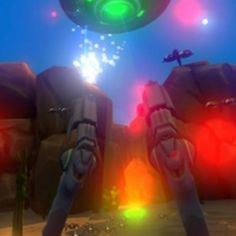 Beware about the Alien fight in your backyard! The Canyon is a #vr game for HTC VIVE, under development, which seems to be a great hit! Bl4st Bl4st #virtualreality #vrcontent http://www.vrcreed.com/apps/the-canyon/