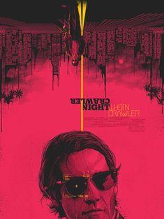 Nightcrawler by Matt Ryan Tobin - Home of the Alternative Movie Poster -AMP-