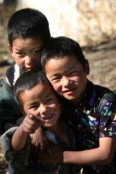 Children of Bhutan.