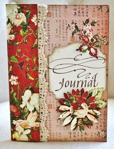 Altered Journal by Christine Emberson for Scrapbook Adhesives by 3L, for blog hop with #Graphic45. #tutorial #mixedmedia
