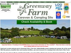 Camping and Caravan Site Forest of Dean
