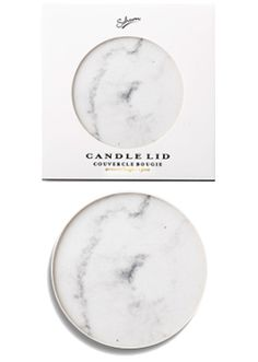 Sohum White Marble Effect Candle Lid Candle Store, Marble Effect, White Marble, Scented Candles, Candle Shop