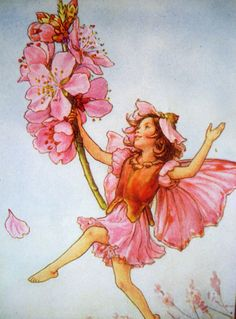 The Almond Blossom FAIRY Cicely Mary Barker