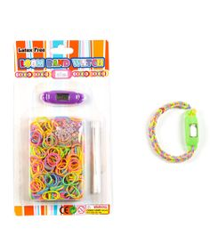 For little ones who can't get enough of arts and crafts, they'll love creating fun and colorful watch bracelets that showcase their style! By using the included bands, aspiring artists can express themselves and craft adorable accessories.