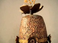 Video -- Polymer clay indoor fountain