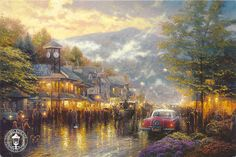 Love Thomas Kinkade