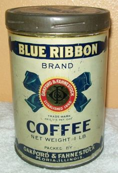 Blue Ribbon Brand Coffee