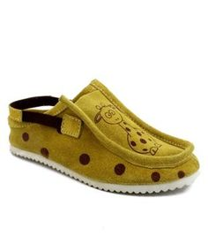 Willy Winkies Smart Yellow Casual Shoes