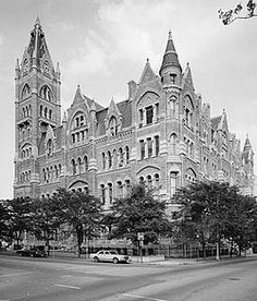 Old City Hall (Richmond, Virginia) - 1894 Gothic Virginia History, Virginia Is For Lovers, Dc Travel, Virginia Homes, Richmond Virginia, Historical Sites, Historical Images, Old City, Historic Homes