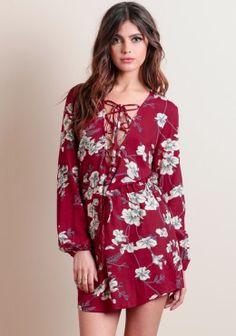Gaviota Printed Dress