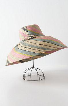 anthropologie Aurora Sun Hat Product Details - Style No. 27501758 By Onigo  Raffia crown  brim Handmade in Madagascar 94fdb1b1451c