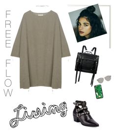 """~ Free Flow Living 🍃"" by free-young-spirit ❤ liked on Polyvore featuring BLACK CRANE, Yves Saint Laurent, McQ by Alexander McQueen, Eddie Borgo, Christian Dior, Dolce&Gabbana, cute, simple and polyvorefashion"
