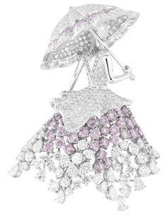 Van Cleef & Arpels, cute umbrella lady