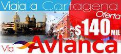 Vuelos a Cartagena desde $ 140mil disfruta de la ciudad amurallada y el misterio de sus monumentos...