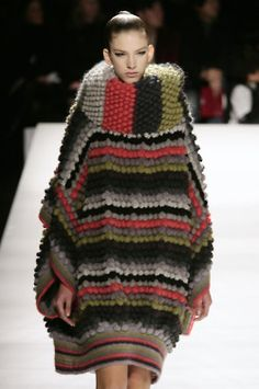Kenzo |  fall 2008- when she was last seen just before the tragic sweater swallowing incident
