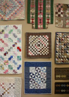 More Adorable Doll Quilts... Temecula Quilt Co