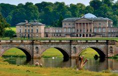 Classical Britain - Kedleston Hall - Derbyshire, England The present...