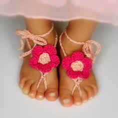 Crochet Barefoot Sandals for Summer: 10 Free Patternsmoogly