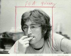 """the-cosmic-empire: """"John, dated as 1968. Pic: Washington Post / AFP Relaxnews """""""