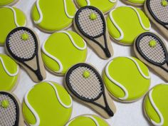 Tennis Anyone ... Tennis Theme Decorated Sugar by MartaIngros