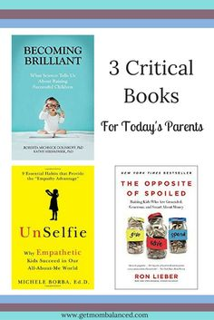 Today's parents need great resources. These 3 parenting books are ones you'll want to have on your bookshelf and will refer to for many years. Read now or pin for later. books Parenting Books that Today's Parents Need to Read Best Parenting Books, Gentle Parenting, Parenting Teens, Parenting Quotes, Parenting Advice, Peaceful Parenting, Practical Parenting, Mindful Parenting, Foster Parenting