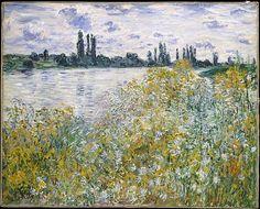 Claude Monet - Île aux Fleurs near Vétheuil, 1880