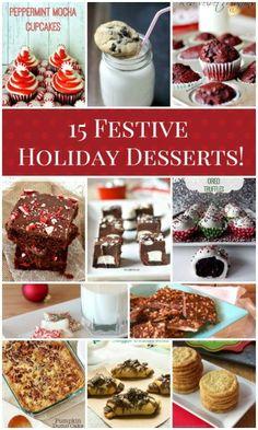 15 festive holiday desserts!