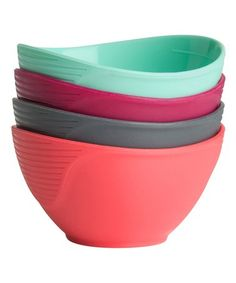 This Bright Pinch Bowls - Set of Four is perfect! #zulilyfinds