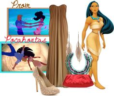"""Pocahontas"" by jami1990 ❤ liked on Polyvore"