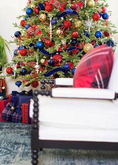 like the blue Tartan Christmas, Merry Little Christmas, Christmas Love, Christmas Design, Country Christmas, Christmas Holidays, Christmas Trees, Celtic Christmas, Elegant Christmas