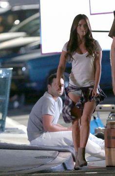 Megan Fox - Set of New Girl in Los Angeles, November 2015