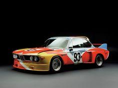 BMW 3.0 CSL - Alexander Calder