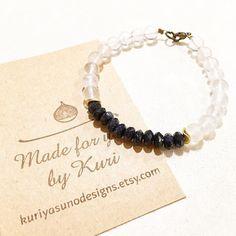 Rose quartz and goldstone bracelet. Yummy combo.