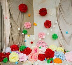 Escaparates decorados con papel | Holamama blog