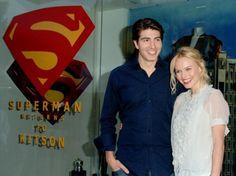 Brandon Routh, Kate Bosworth, Superman, Movie Tv, It Cast, Comics, Cartoons, Comic, Comics And Cartoons